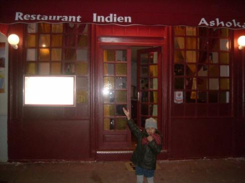Restaurant Indien  Rue Pasteur Suresnes